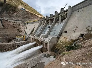 格鲁夫越野起重机助力秘鲁水电站水坝建设