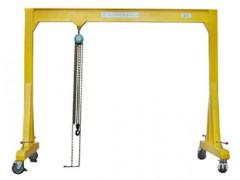 宁波镇海专业生产手推式移动式龙门吊架13523255469