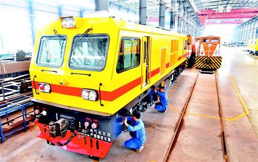 襄州打造千亿级轨道交通产业集群