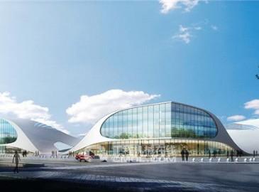 中国中元国际工程承建格尔木市会展中心设计施工总承包项目签约开工