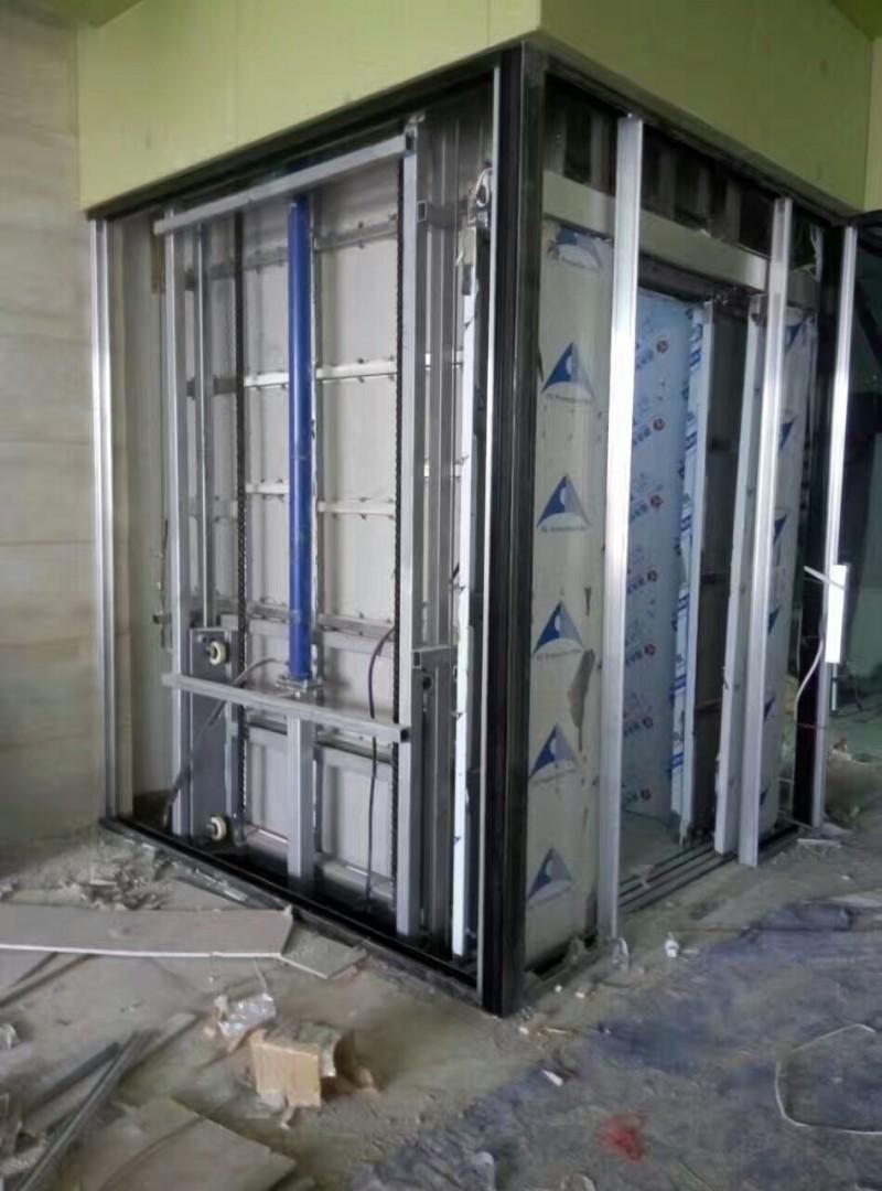 重庆货梯液压升降机导轨货梯