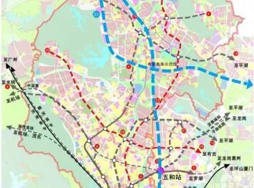 龙华轨道交通线路在更新 地铁在建、规划及新增线路11条