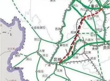 四川三条铁路加快推进 力争年底前实现开工建设!