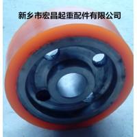 宏昌起重-杭州销售包胶轮-质量保证15037389555