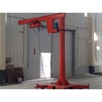 河南新鄉移動式懸臂起重機電動柱吊
