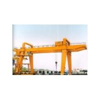江都雙梁吊鉤門式起重機生產設計13951432044