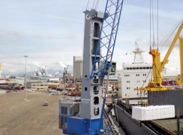 科尼4型Gottwald移动式港口起重机在韩国再创佳绩