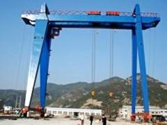 庆阳造船用门式起重机乔迁改造