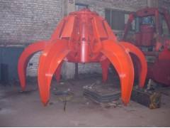 杭州桥式起重机液压液压两瓣/多瓣抓斗18667161695