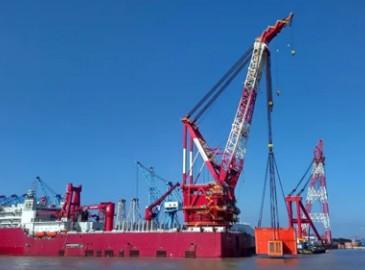 上海振华:烟台5000吨起重铺管船完成试航前关键节点