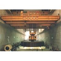 阿拉尔水电站用桥式起重机安装维修