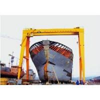元宝山造船用门式起重机乔迁改造
