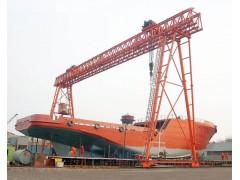 上海宝山造船用门式起重机安装维修