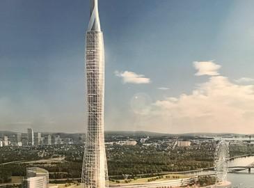 520米打造全国第2高度 投资50亿的厦门塔正式签约