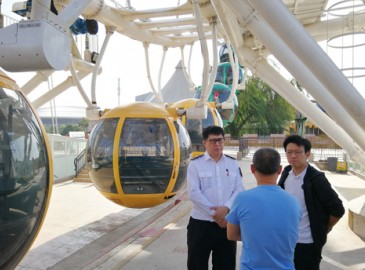 北京石景山区质监局开展特种设备安全检查