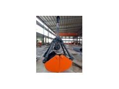 渭南起重机优质两瓣四绳抓斗液压抓斗13309139930
