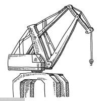 湖北荆门码头起重机-咨询销售13593793525