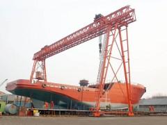 贵州造船用门式起重机乔迁改造