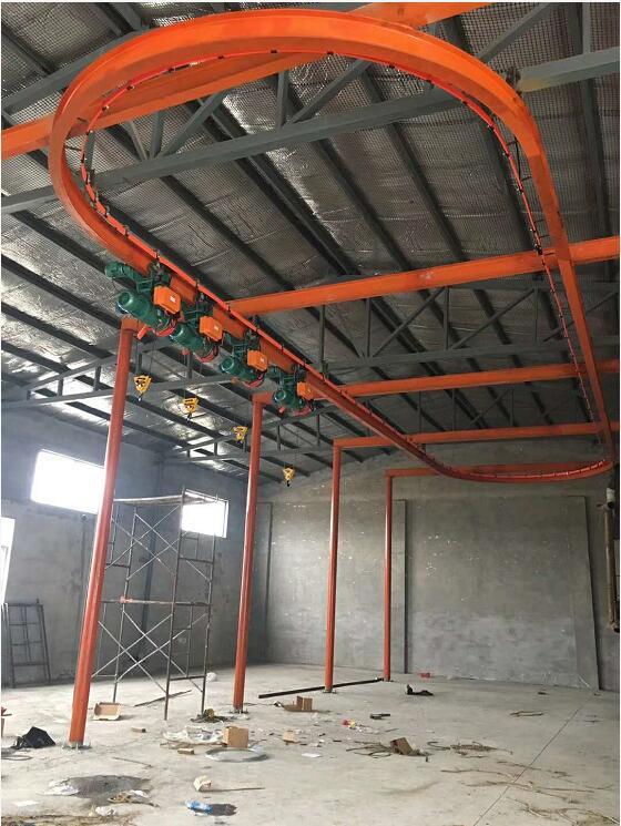市环型单库房轨道直销13621786872_CD型电钢结构厂家v库房图纸图片