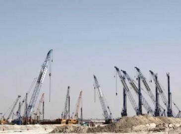"""徐工起重机械成套设备助力迪拜""""世界第一高楼Dubai Creek Tower""""建设!"""
