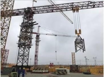 厉害了!中联重科超大型塔机出口海外 参建世界未来九大航空港