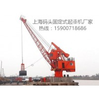 上海码头固定式起重机厂家热线15900718686