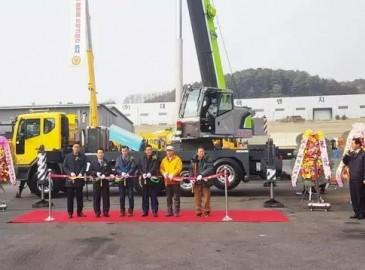 赞!中国这家汽车起重机批量进入韩国 打破壁垒发力中高端市场