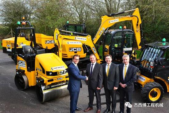 JCB又获单笔2500万英镑设备订单