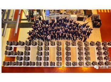 JCB第50万台发动机生产下线