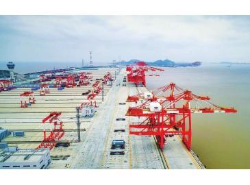全球最大单体全自动化码头--上海洋山深水港四期开港在即