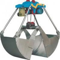 河北保定高阳电动葫芦起重机行吊龙门抓斗不锈钢抓斗