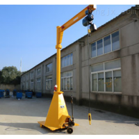 湛江单梁移动旋臂吊起重机安装销售18319537898