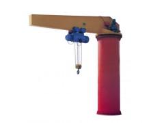 辽源定柱式旋臂起重机销售 18568228773