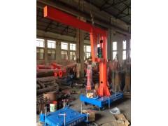 白山定柱式悬臂起重机 小型起重机械 18568228773