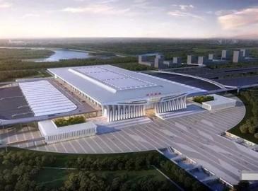 """比东站还高大上的郑州南站""""长""""这样!未来三年郑州除了建""""铁公机""""还有""""出海港""""?"""