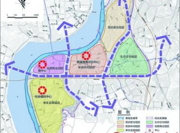 株洲枫溪片区要建3座公园 预留轨道交通2、3号线