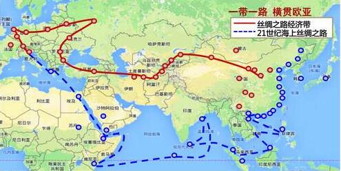 2018亚洲地图