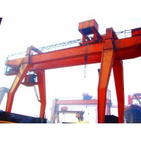 河南郑州抓斗门式起重机厂家制造15736935555