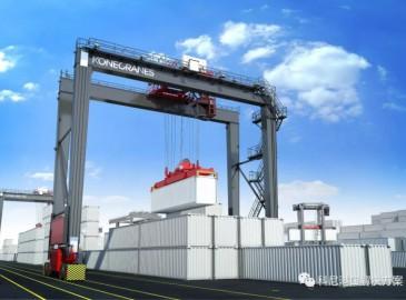 马耳他自由港订购十五台科尼轮胎式集装箱门式起重机(RTG)