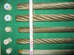 航空钢丝绳,操纵用钢丝绳,车窗提升钢丝绳