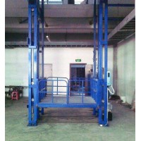 湖南长沙厂家生产液压导轨链条式升降机 液压货梯量大从优