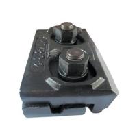 河南压轨器配套夹板压板一块批发销售13262187779