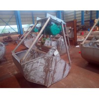 武汉起重机-起重配件优质不锈钢抓斗销售13871412800
