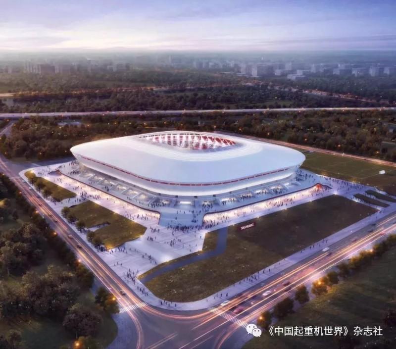 投资18.07亿 上海浦东足球场开工建树!