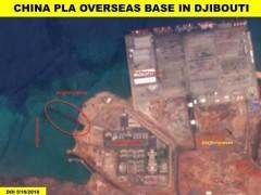 外媒:中国驻吉布提军事基地建新码头 将为舰队补给