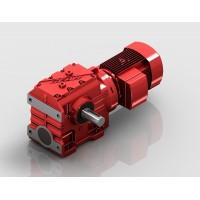 S系列蜗轮蜗杆斜齿轮减速机