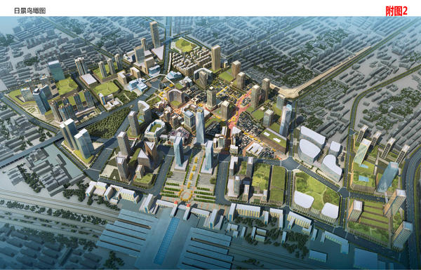 """郑州""""百年德化""""规划发布:14个月后改造完成,局部采用民国风"""