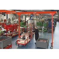 西安起重机供应销售kbk欧式移动龙门吊15002982003