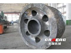 河南知名铸造厂 大型回转窑托轮加工厂家