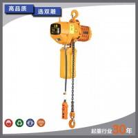 上海双雕 固定式环链电动葫芦 木箱包装 2吨单链电动葫芦